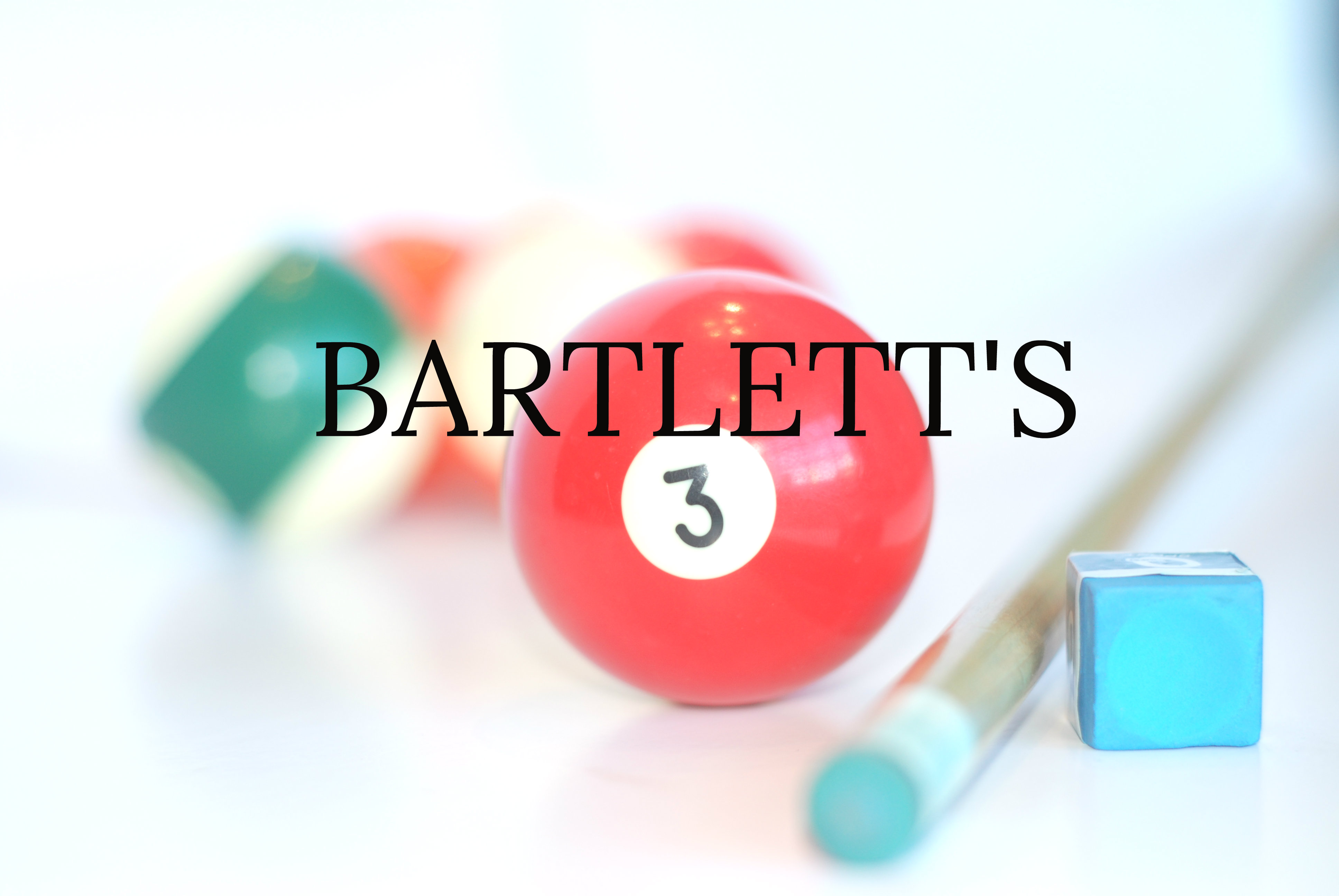 """BARTLETTS & BOWLING"" ROMANTIC FOOD EXPERIENCE"