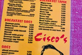 Ciscos mexican restaurant austin
